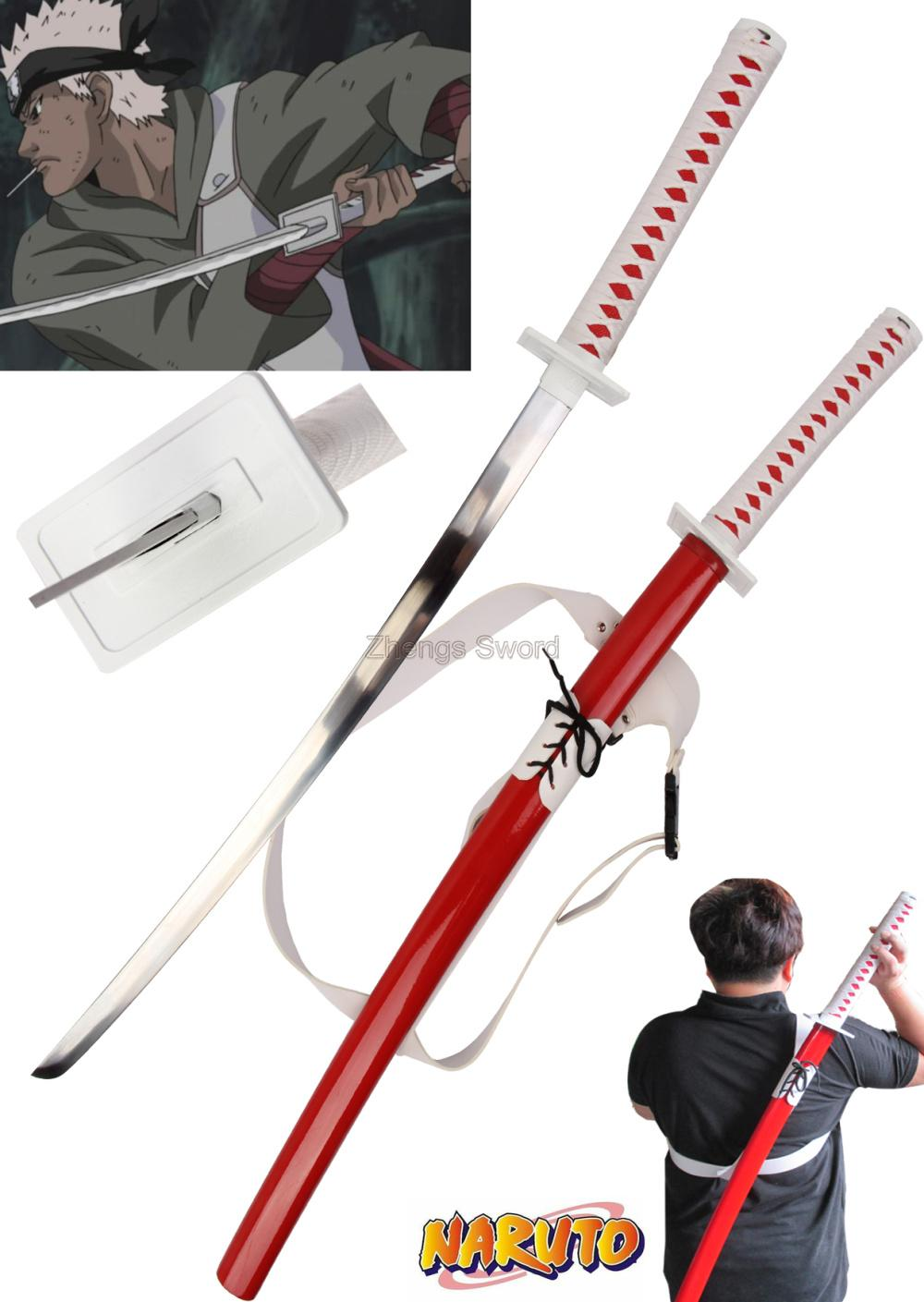 how to make saska sword from naruto