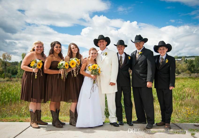 Branco Plus Size Camo Vestidos de Noiva Floresta Estilo Country Uma linha Strapless Lace Up RealTree Camuflagem Vestidos de casamento vestidos de noiva