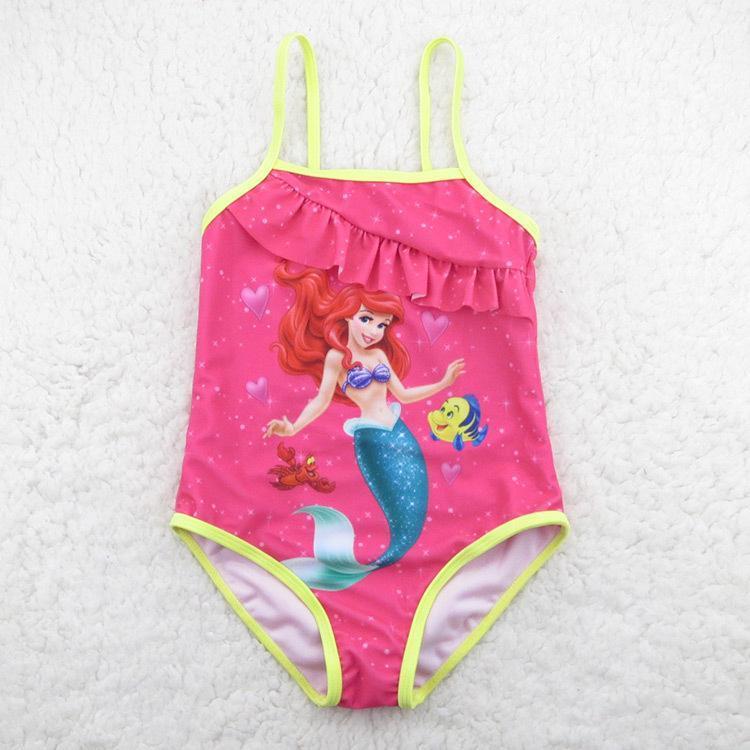 Online Cheap Dhl Baby Girls Little Mermaid Bathing Suit