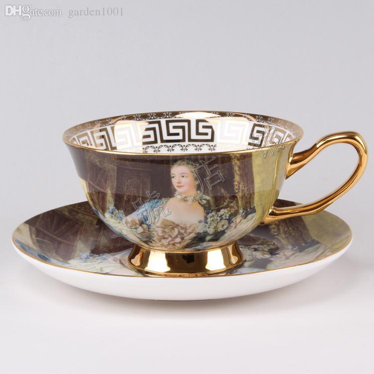 2018 Sale Cheap Tea Cups Royal English Tea Sets Bone China Tea Cups ...