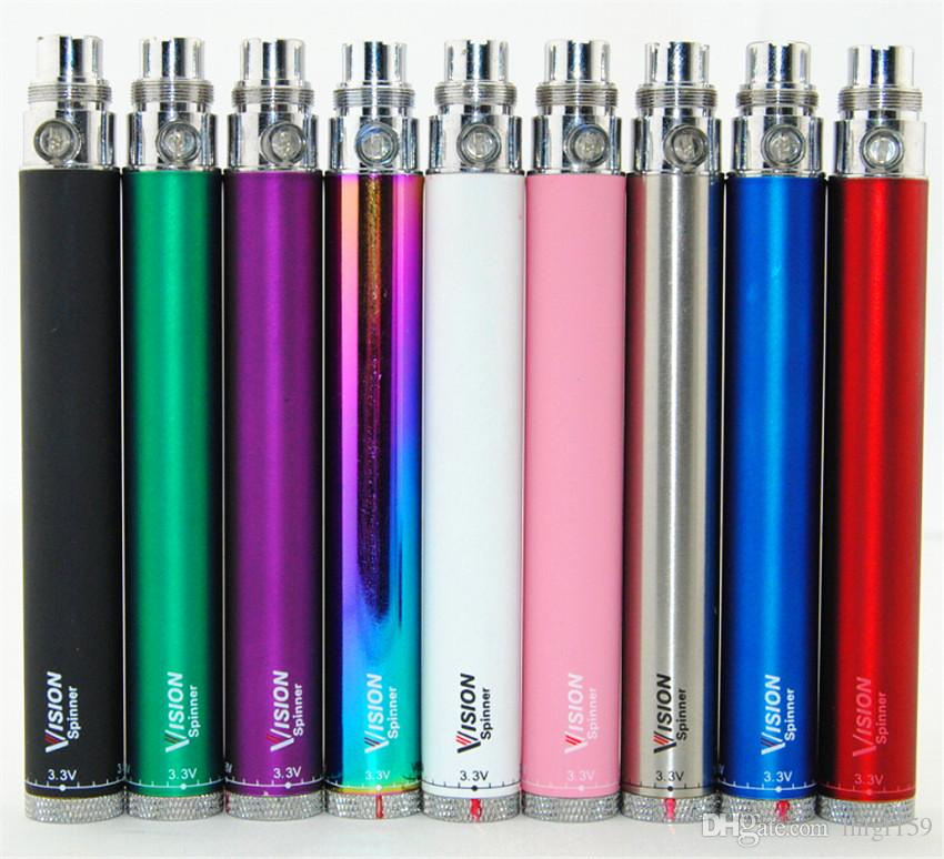 Ego CE5 kits with Vision Spinner Ego-C Twist Battery 650mah 900mah 1100mah Variable Voltage 3.3-4.8V w/ EGO USB charger Ego ce5 Zipper kit