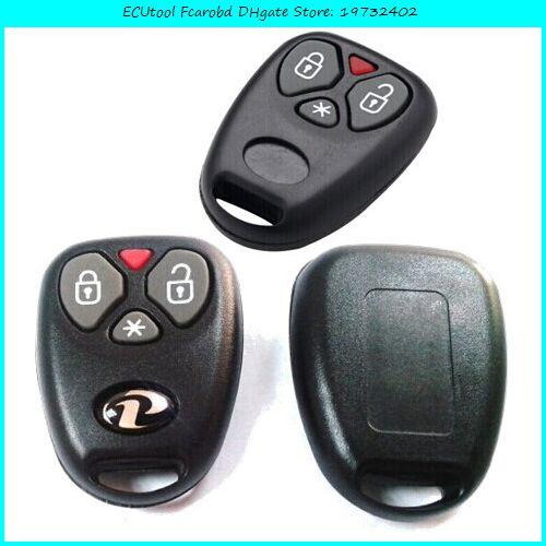 ECUtool Fcarobd 433,92 MHz für Fiat 3-Tasten-Stil Fernschlüssel für Auto-Alarmanlage Brasilien Positron-Controller mit BX023A HCS300 Chip