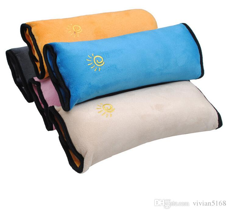 الطفل الأطفال سيارة سلامة السيارات مقعد حزام لينة تسخير الكتف وسادة غطاء الأطفال حماية يغطي وسادة دعم وسادة وسادة مقعد