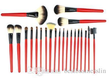 / set 붉은 색 메이크업 Brushe 세트 화장품 브러쉬 메이크업 브러쉬 메이크업 도구 키트
