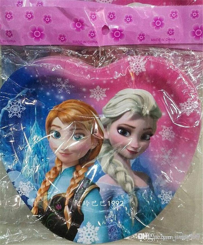 2018 New Arrive Frozen Square Dessert Party Paper Plates Frozen Movie Kids 3 Design Happy Birthday Party Cake Plate Decoration Supplies From Jiujiu999 ...  sc 1 st  DHgate.com & 2018 New Arrive Frozen Square Dessert Party Paper Plates Frozen ...