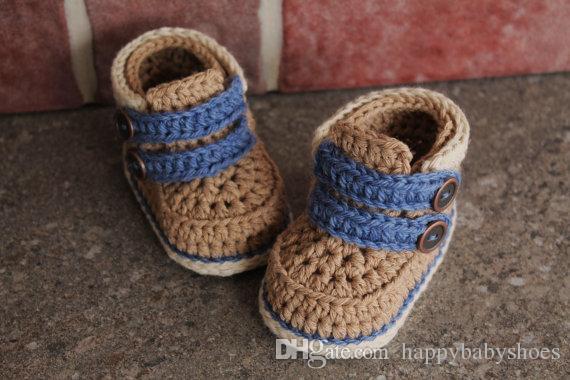 Ganchillo Crochet Bebé Walker Niño Edad 12 Suave De Infantil Una Meses Del Zapatos Primer Botines 2015 Adaptarse A Sandalia 0 Moda v8m0wnON