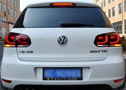 gro handel volkswagen golf 6 led r cklicht assy tuning led. Black Bedroom Furniture Sets. Home Design Ideas