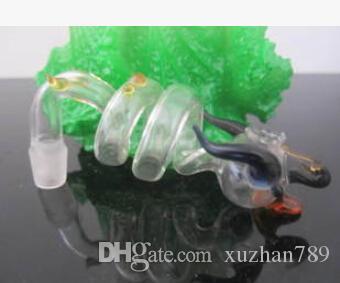 Tubos de água de vidro Long Guo dragon mouth /