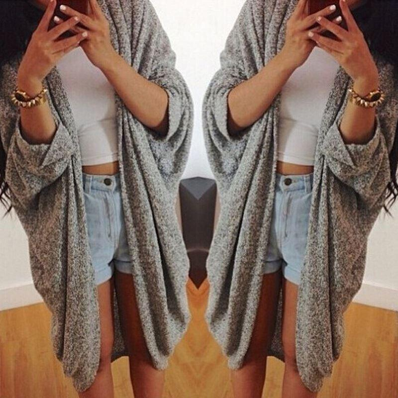 8ecf434ee2b Womens Tassel Cardigan Plus Size Knit Sweater Autumn Casual Jacket Fashion  Lady Batwing Sleeve Open Stitch Coats Fleece Jacket Red Leather Jacket From  ...