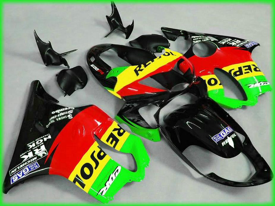 7Gifts Carene GAS Repsol Honda 99 00 CBR600 F4 Carkit CBR 600 F4 1999 2000 Carene AMIC