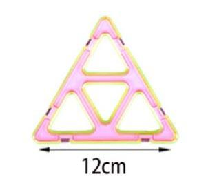 single large triangle Variety Children's Building Blocks Magnetic Sheet Magnetic Wisdom Magic piece