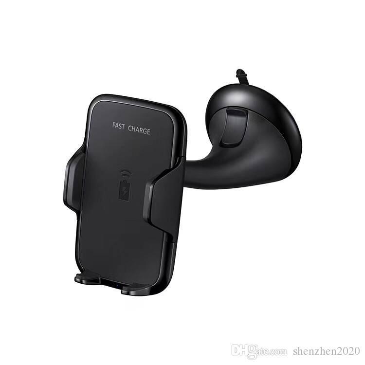 Chargeur sans fil de voiture Monter le véhicule Qi Wireless Dock Dock pour Samsung Galaxy S7 Edge S8 plus Note8 iPhone 8 X avec forfait 2017 2018
