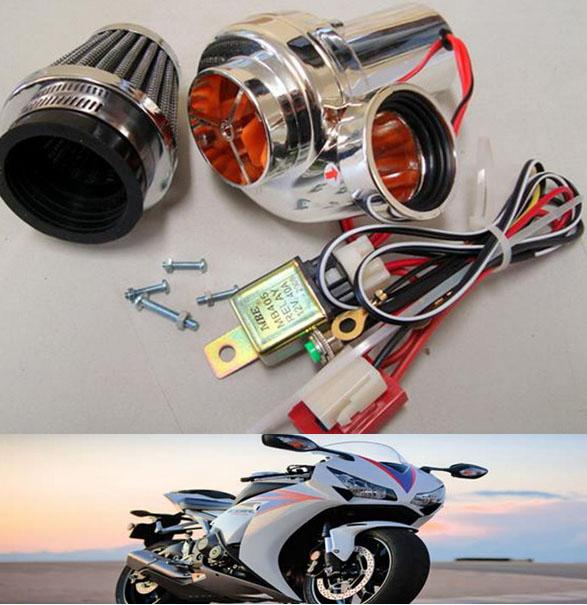 Electric Supercharger Bmw: Motorcycle Electric Turbocharger Diy Turbo 500,EFI