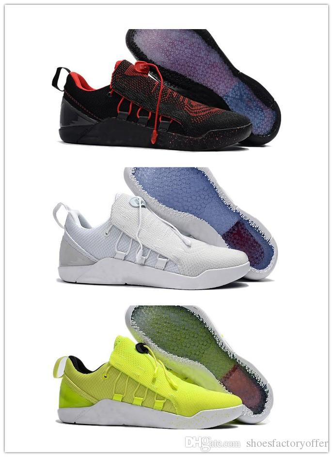 5c0e54a9925e 2019 2017 KOBE A.D. NXT Men Basketball Shoes Kobe AD NXT Black Green White  Basketball Sports Shoes Low Kobe XII Elite Sneakers From Shoesfactoryoffer