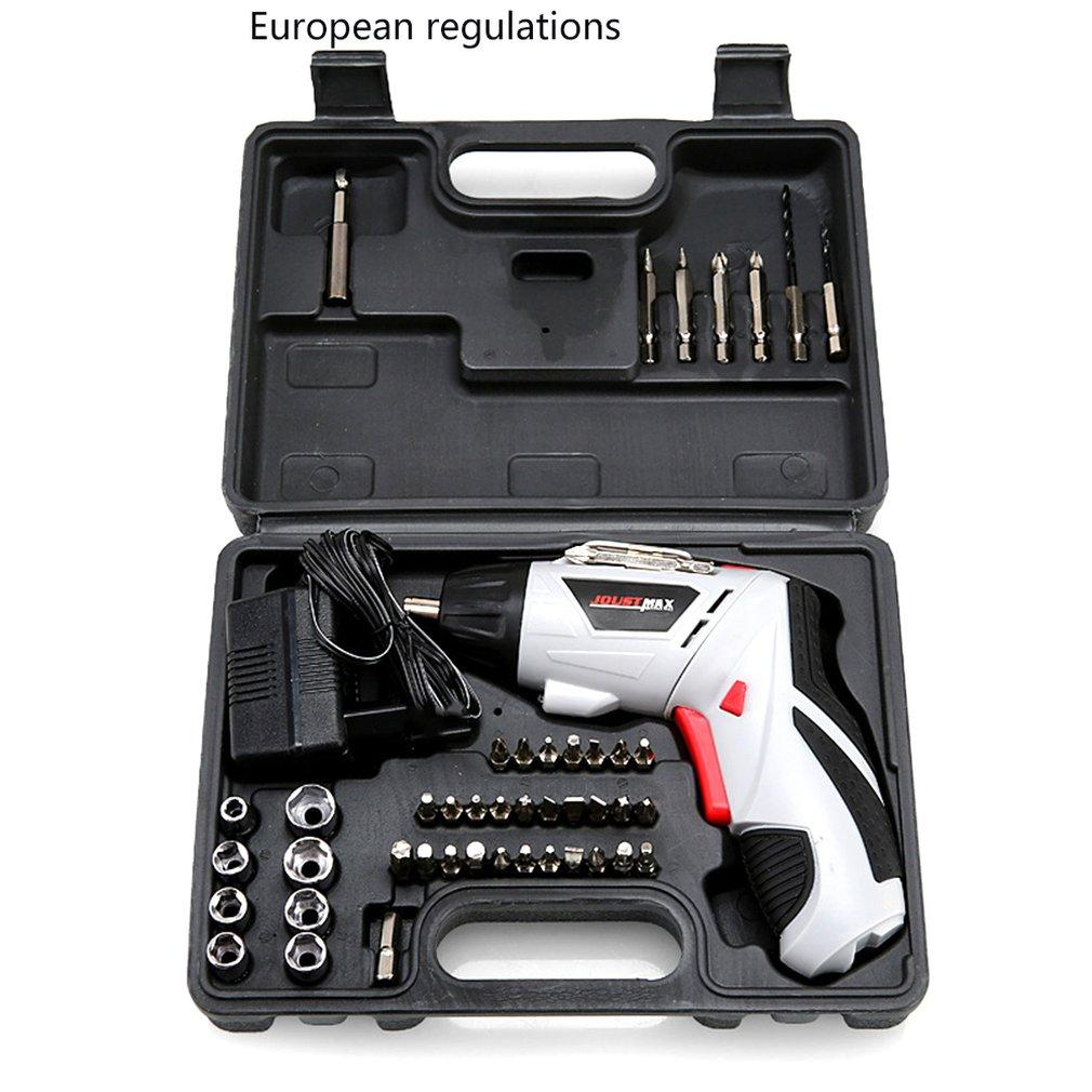 4.8V Electric Screwdriver Set Multi-Function Rechargeable Hand Drill Portable Screwdriver Set Power Tool