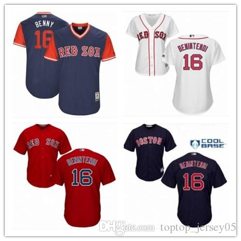 2019 2018 Boston Red Sox Jerseys  16 Andrew Benintendi Jerseys Men WOMEN  YOUTH Men S Baseball Jersey Majestic Stitched Professional Sportswear From  ... c03713b5623