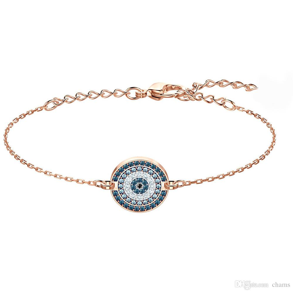 600687917 Swarovski New Round Eye Bracelet Jewelry Creative Unique Fashion Elegant  Gift Gift For Gifts Gift Recommendation 5429128 Wholesale Silver Jewelry  Childrens ...