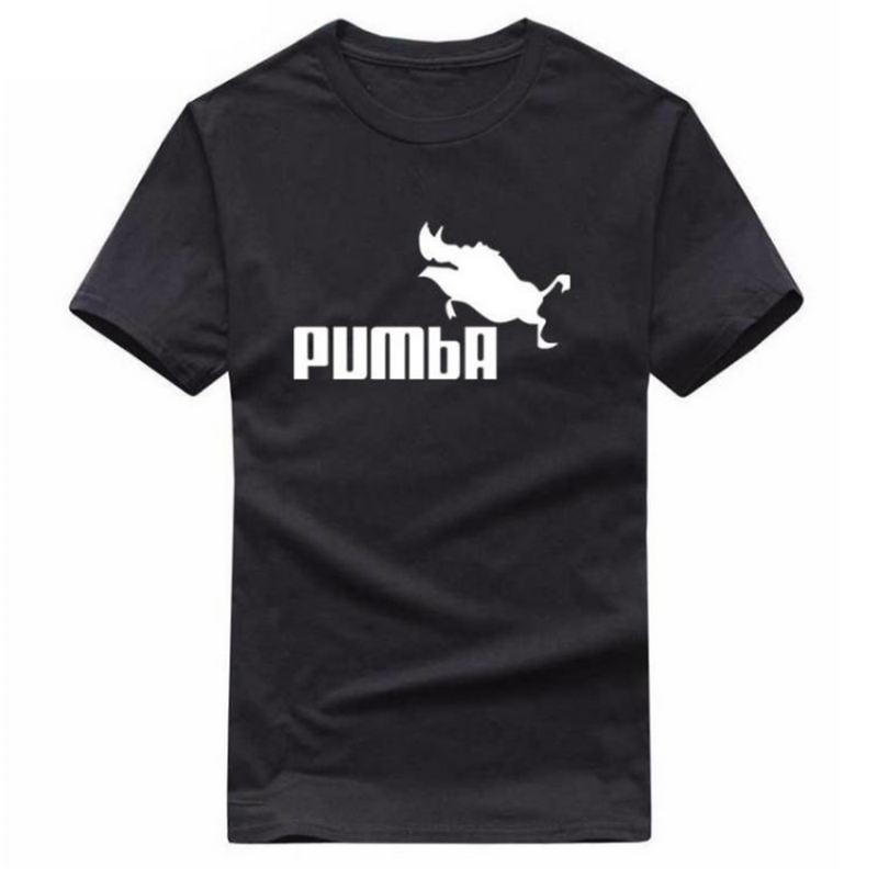 7e40a3ede 2019 New Funny Tee Cute T Shirts Homme Pumba Men Women 100% Cotton Cool  Tshirt Lovely Cute Summer Jersey Costume T Shirt Online T Shirt Printing On T  Shirts ...