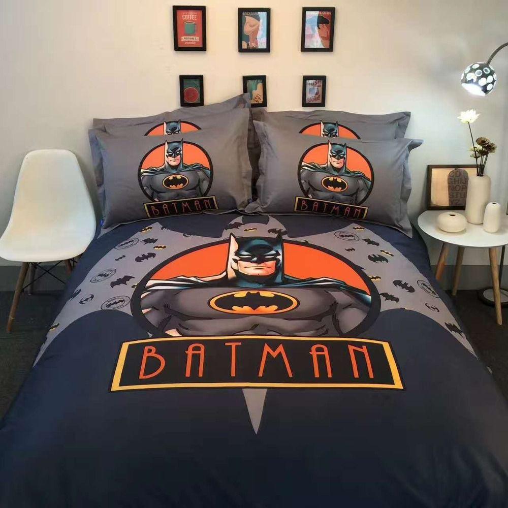 Acheter 100 Coton Super Heros De Spiderman Batman Ensembles De