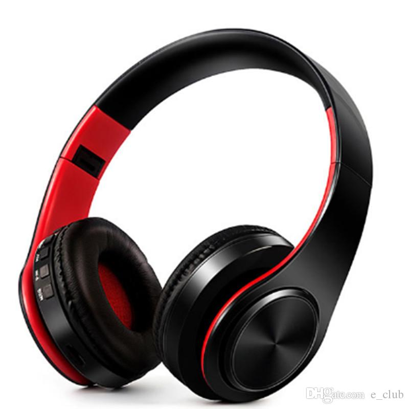 667d02bcad8057 Top Quality P47 Wireless Bluetooth Headphone Gaming Headset Stereo Music  Support TF Card Foldable Headband Headphone On Ear Headset DHL Free Wireless  ...
