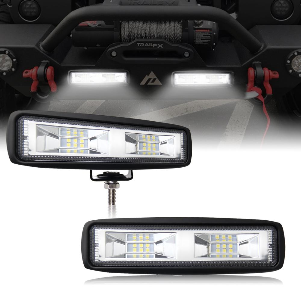 Mini Led Light Bar >> 6 Inch 40w Mini Led Work Light Bar Single Row For Offroad Trucks 4wd