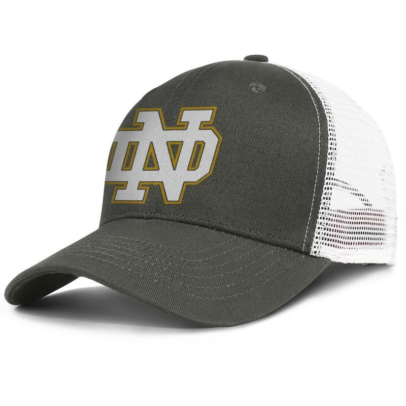 Notre Dame Fighting Irish football logo Poster young men golf hat printed adjustable pretty women fishing cap fitted trucker cap mesh s