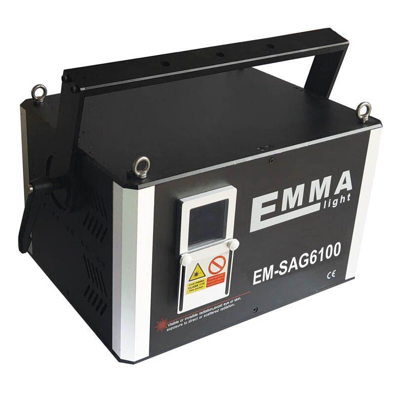 10 Watt Dmx Ilda professional DMX512 Single color Green laser ray dj bar  club laser stage live show projector