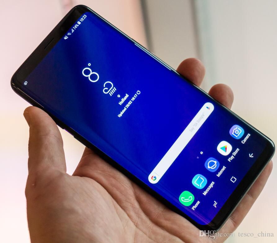 Goophone S9 Plus 9 6 2 inch 1g ram 8G 16G rom show 256GB 4g lte Unlocked  Phone real 3G Smartphone Sealed Box