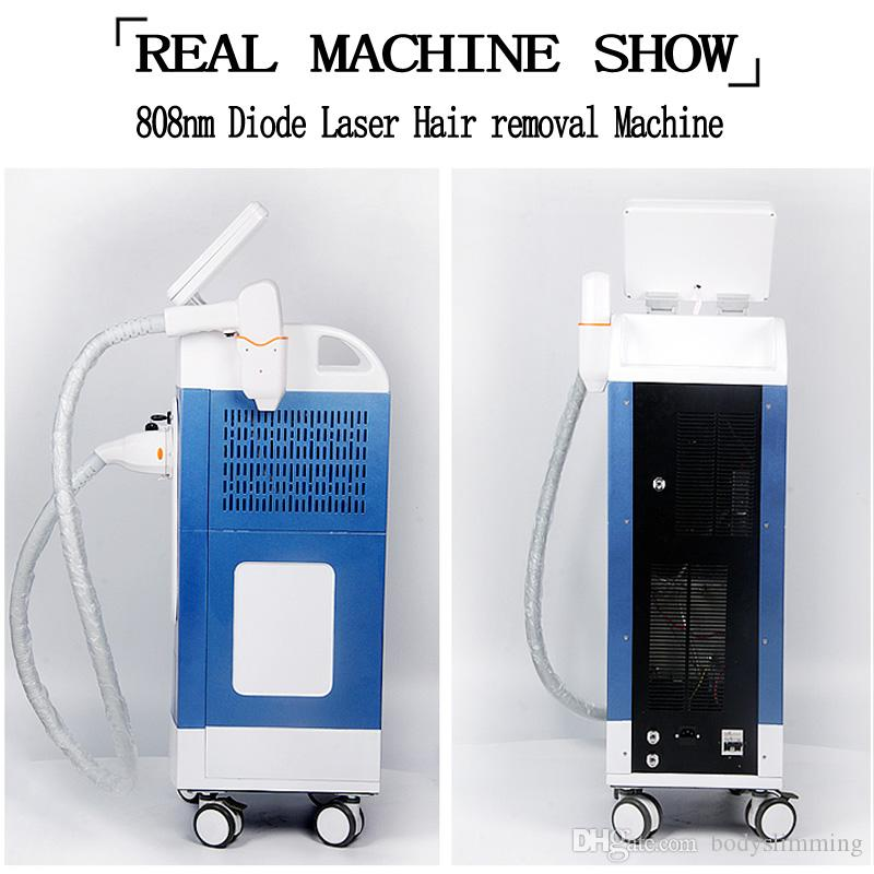 equipos de depilación láser de 808nm láser máquina de depilación láser de diodo de la máquina de depilación diodo 808nm