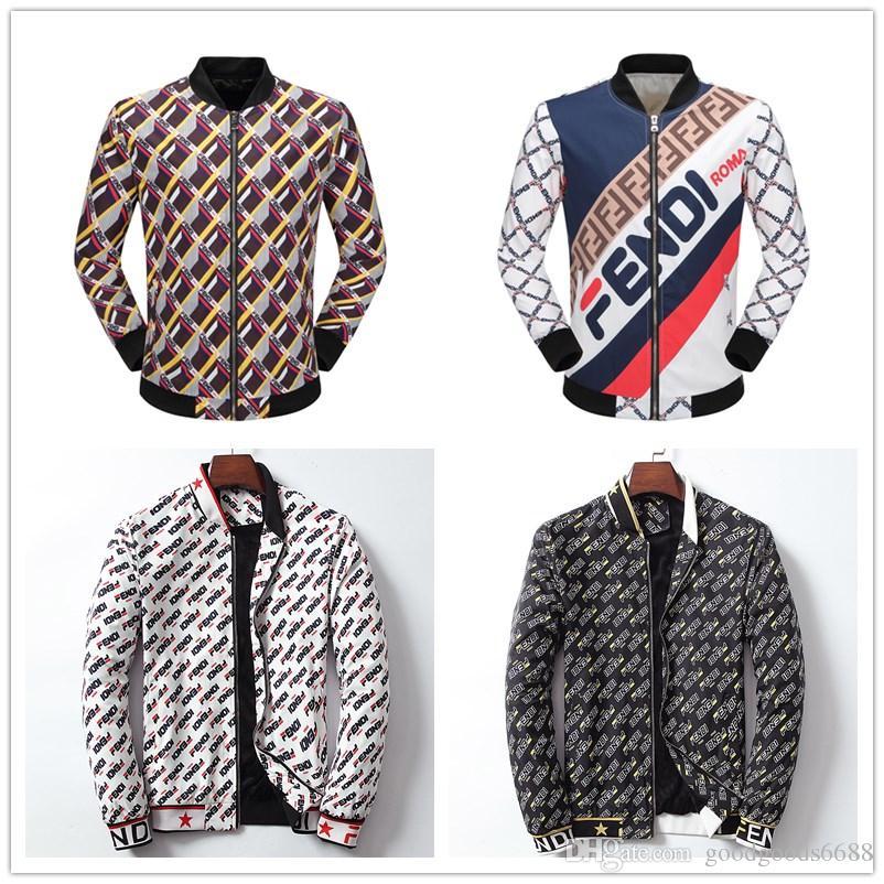f0158737f9 New Designer Jacket Coat Autumn Brand Windrunner Windbreaker Jacket Mens  Hoodie Sportswear Soccer Team Pattern Fashion Zipper Clothing