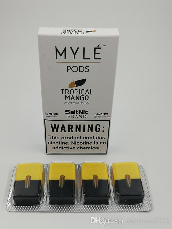 Myle Vape Pods Mango Mint 5 Flavors Fit For Myle Vape Battery Myle