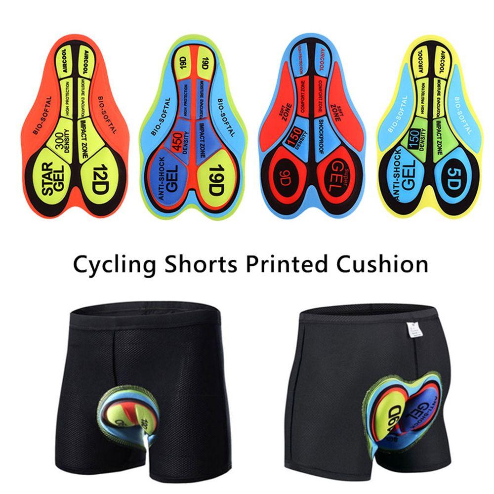 Women/'s Cycling Gel Pads MTB Bike Road Riding Base Cushion  Underwear Gel Pad