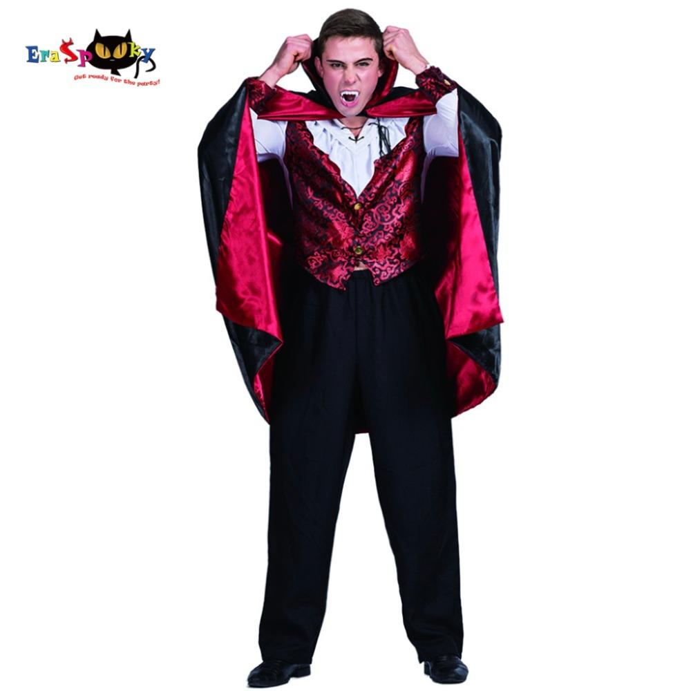 a59020ab5a6d Gothic Costumes Men Vampire Count Dracula Gothic Costume Carnival Party  Adult Male Cosplay Outfits Clothing Scary Devil Halloween Costumes Group  Halloween ...