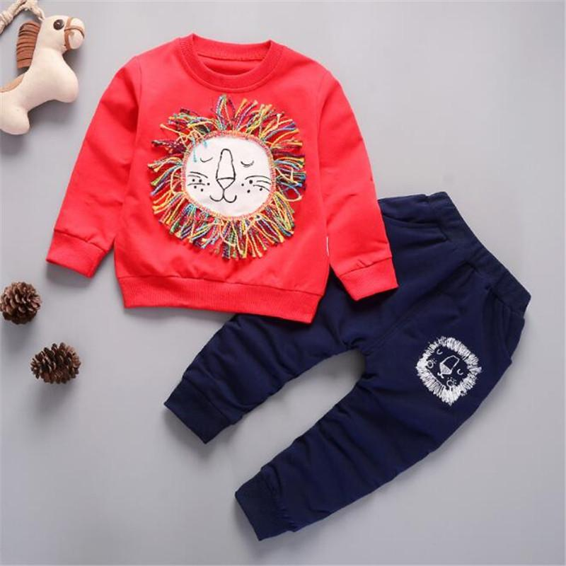 e44893ad7e4f1 2019 Good Quality Autumn Toodler Boys Clothing Sets Coat + Pants Baby Boys  Clothes Sets Kids Children Pants Infant Boys Sets From Superbest17