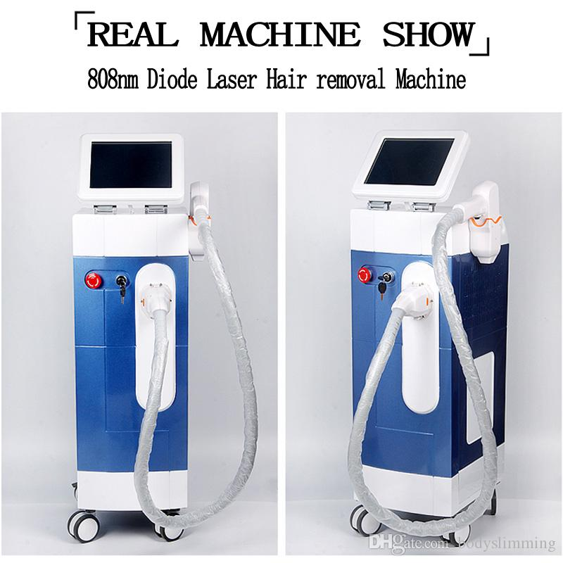 Diode Laser Hair Removal Machines 808nm Diode Laser Machine Fast Painless Permanent Laser Hair