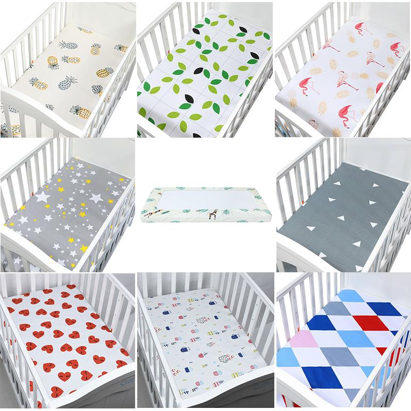 Charmant Baby Crib Bedding Cotton Baby Fitted Sheet Cartoon Crib Mattress Protector,Baby  Bed Sheet For Size 130x70cm Hawaiian Bedding Boys Queen Size Bedding From  ...
