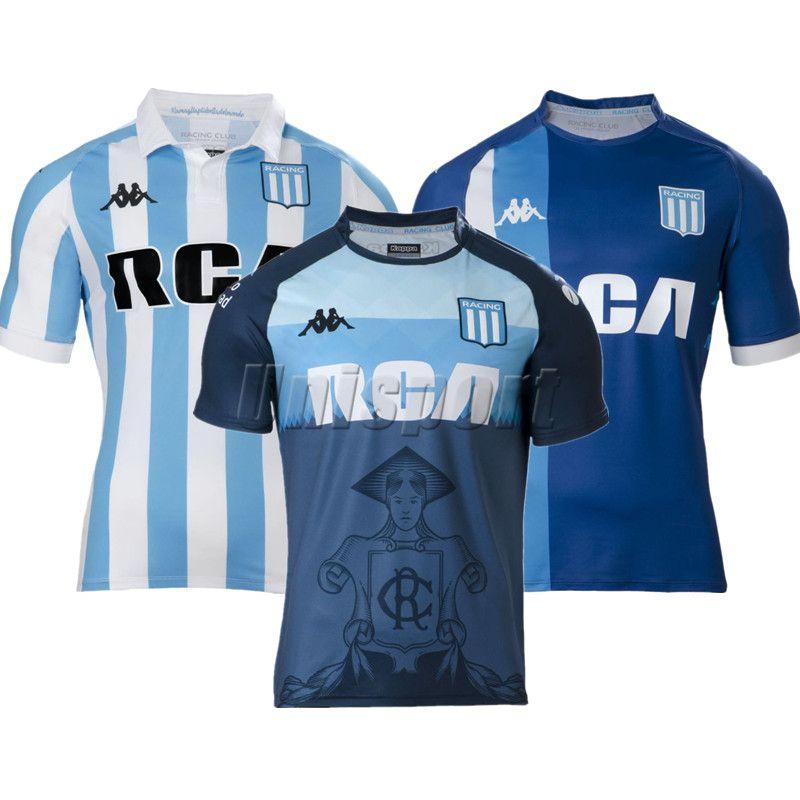 2018 Racing Club De Avellaneda Camisetas De Fútbol Lisandro Churry Bou  Futbol Camisa 18 19 Camisetas De Fútbol Kit Maillot Por Unisport cbfc1810791c5