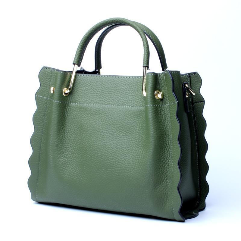 Hot Sale Genuine Leather Women Handbags 2018 Famous Design Tote Bag Women  Shoulder Crossbody Bags Female Business Bag Bolsos Hobo Bags Designer Bags  From ... aa6d1848fe463