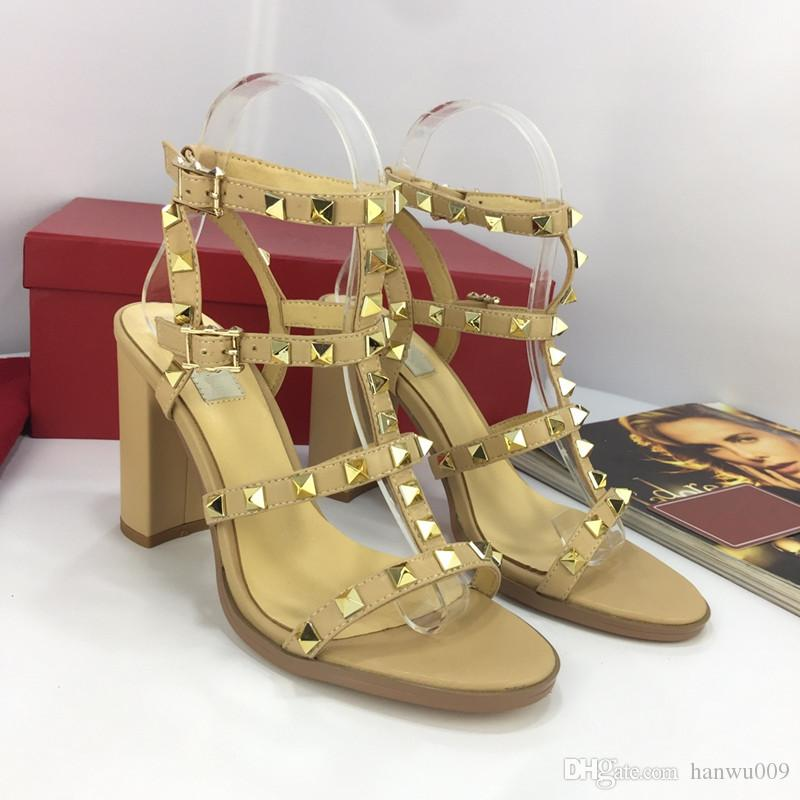 31138069df30 Size 34-41 Rainbow Color Gladiator Sandals Women Designer Brand ...