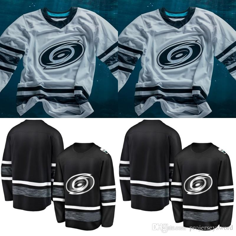 Carolina Hurricanes 2019 All Star Game Jersey Mens 20 Sebastian Aho 27  Justin Faulk 37 Andrei Svechnikov 74 Jaccob Slavin Hockey Jerseys UK 2019  From ... 64a71d4f4da