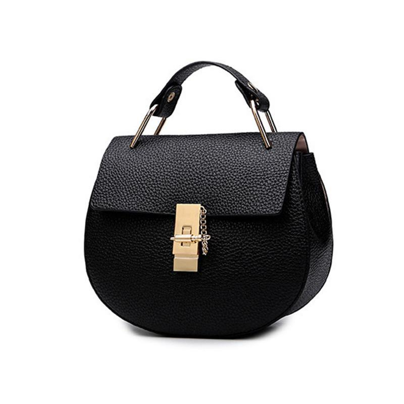 Good Quality Women S Spring Handbag Small Bags Pu Leather Solid Patchwork  Metal Hasp Chain Bag Chain Shoulder Bag Messenger Bag Handbags Brands Womens  ... 3e1d5a90b