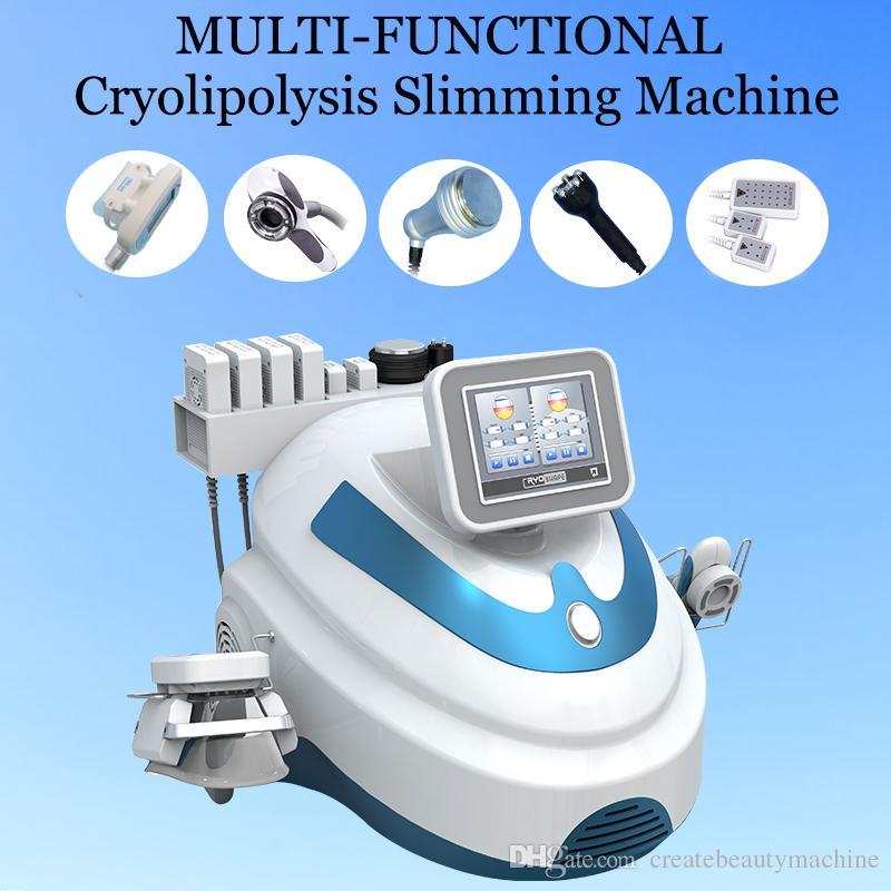 Cryo fat freezing ultrasonic cavitation machine cryolipolysis weight loss  machine equipped user manual and video training