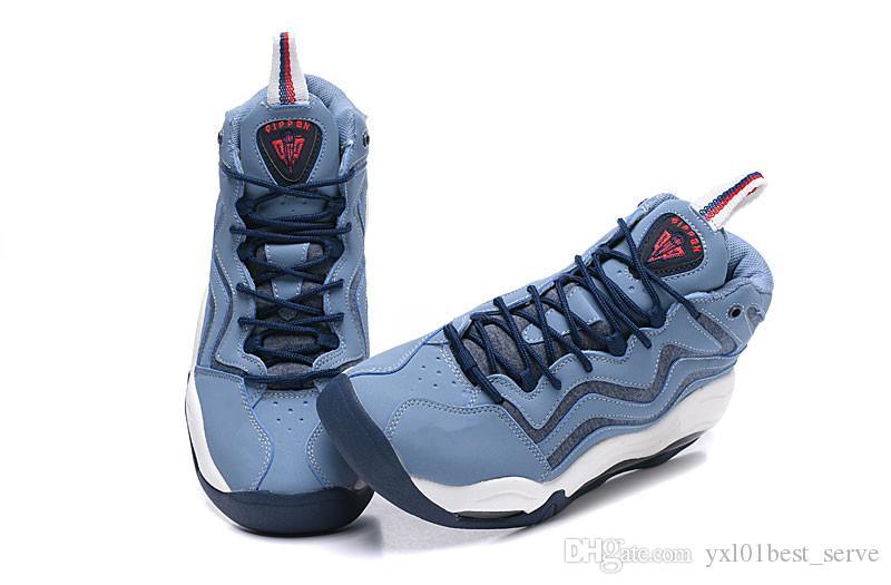 watch a7f45 516e4 Großhandel 2019 Scottie Pippen 1 Uptempo 94 OG Wheat Work Blau Vast Grey  Sport Basketballschuhe Gute Qualität Schwarz Weiß Blau Mens Sneakers 7 12  Von ...