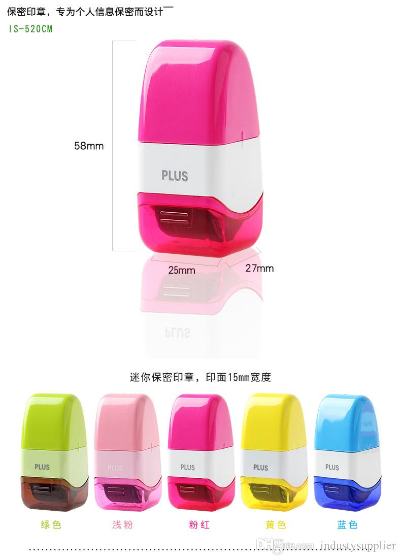2019 DHL Plus Guard Your ID Roller Stamp SelfInking Messy Code Security Office Confidentiality Confidential Seal Hand Tools From Industysupplier