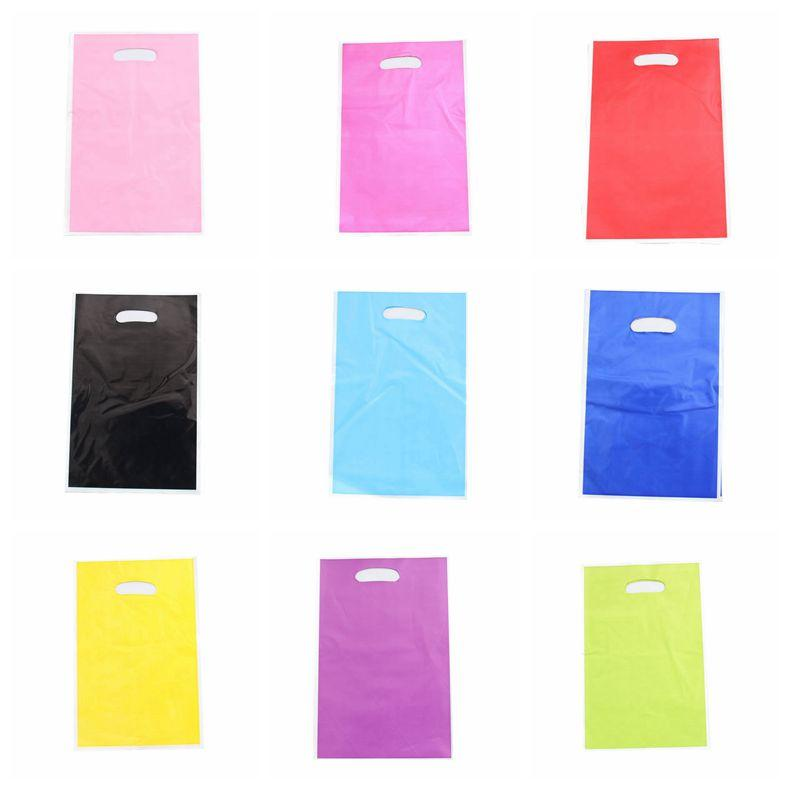 Solid Color Wedding Decoration Party Loot Bag Candy Bag Baby Shower Happy Birthday For Kids Gift Party Supplies