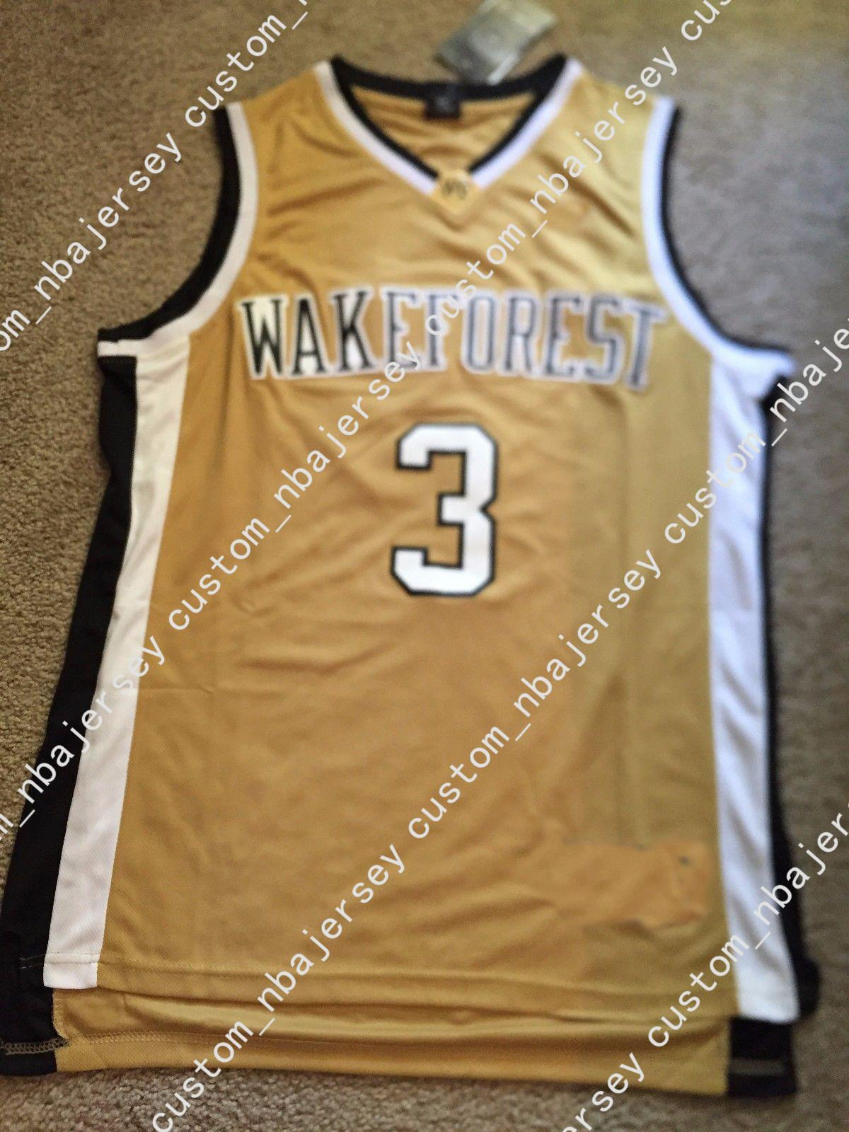 7bb0bef96 2019 Cheap Custom Vintage Chris Paul Wake Forest Demon Deacons NCAA  Basketball Jersey Stitched Customize Any Number Name MEN WOMEN YOUTH XS 5XL  From ...