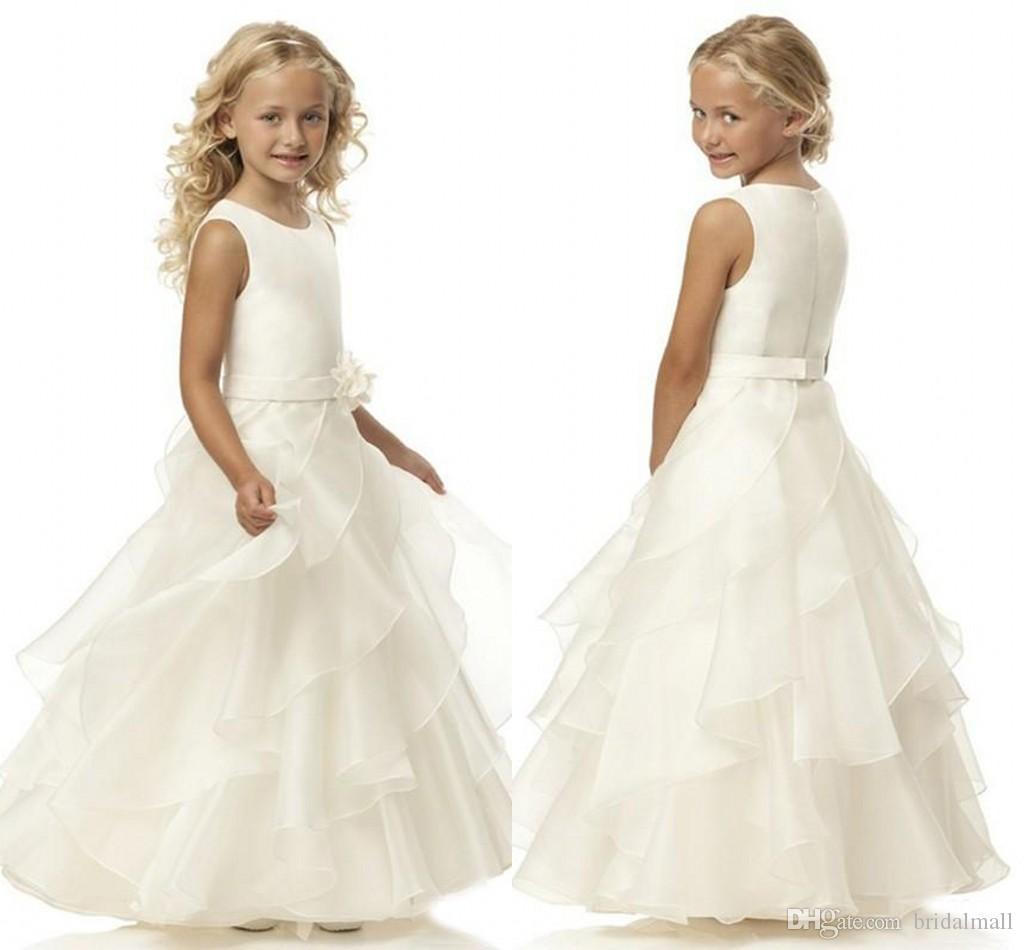 0f80b51c365 Cheap Little Girl Dresses Korean Discount Spring Green Flower Girl Dresses