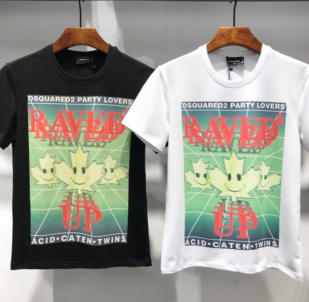 Flash Cotton Sale Men Trend Shirt Oversized Fashion 2019 Print T WIE9DH2