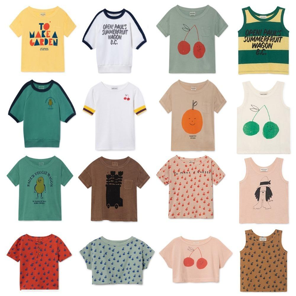 c5b63774372e 2019 Bobo Choses 2019 Summer Baby Boys Girl T Shirt Cotton Tops Animal Baby  Girls T Shirts Children Tees Kids Clothes For 1 11 Years From Textgoods07,  ...