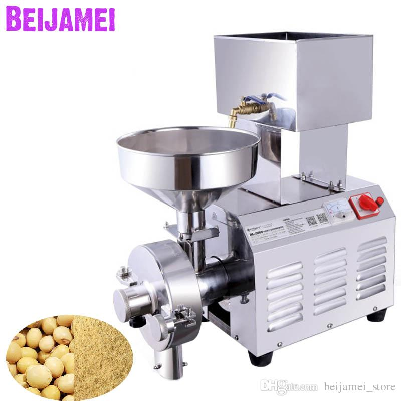 2019 beijamei 3kw grinder for soymilk machine commercial electric rh dhgate com